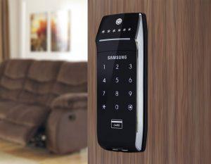 Khóa điện tử Samsung có thiết kế đẹp mắt