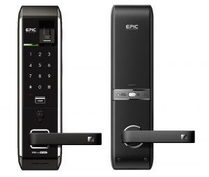 Khóa cửa điện tử EF 8000L với nhiều phương thức mở khóa hiện đại